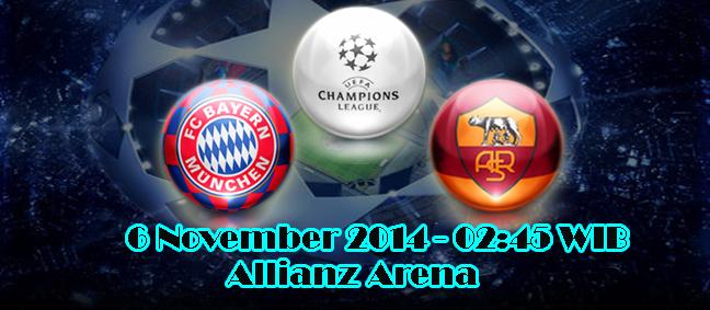 Bayern Munchen Vs AS Roma