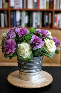 Hoa bắp cải với cách cắm độc đáo 06