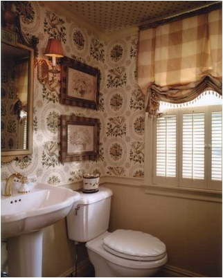 English country bathroom design ideas home and family for Country bathroom design ideas