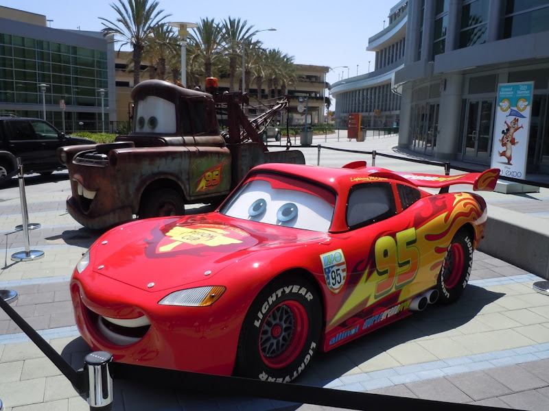 Mater and Lightning McQueen Cars