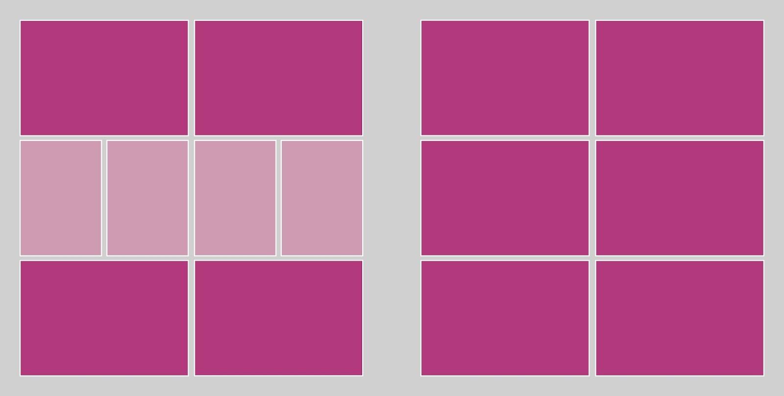 Único Plantilla De Collage De Imagen Libre Festooning - Ejemplo De ...
