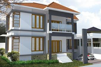 Jasa Desain rumah tinggal yang mewah, unik, menarik dan modern