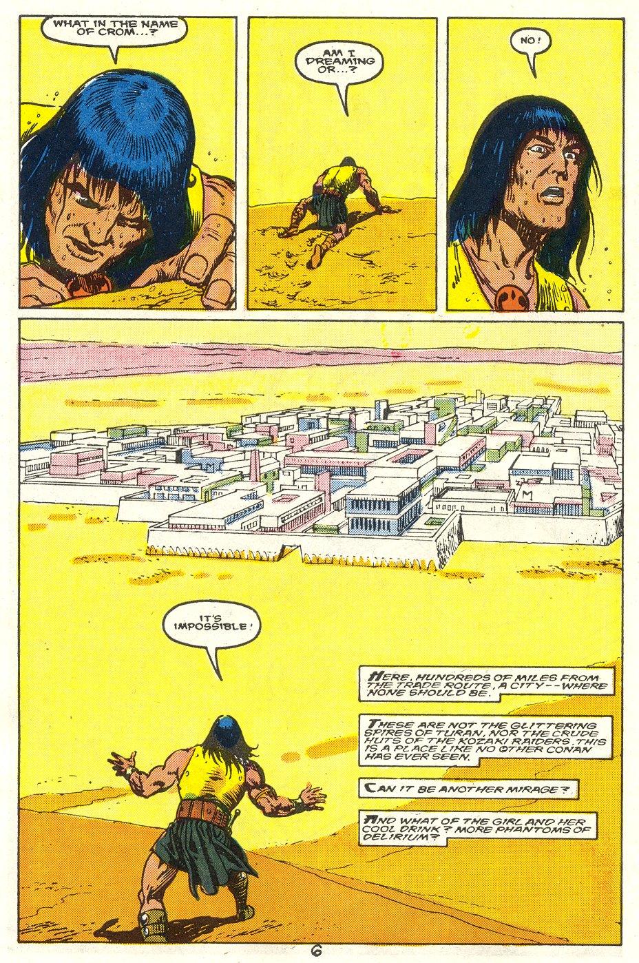 Conan the Barbarian (1970) Issue #214 #226 - English 6