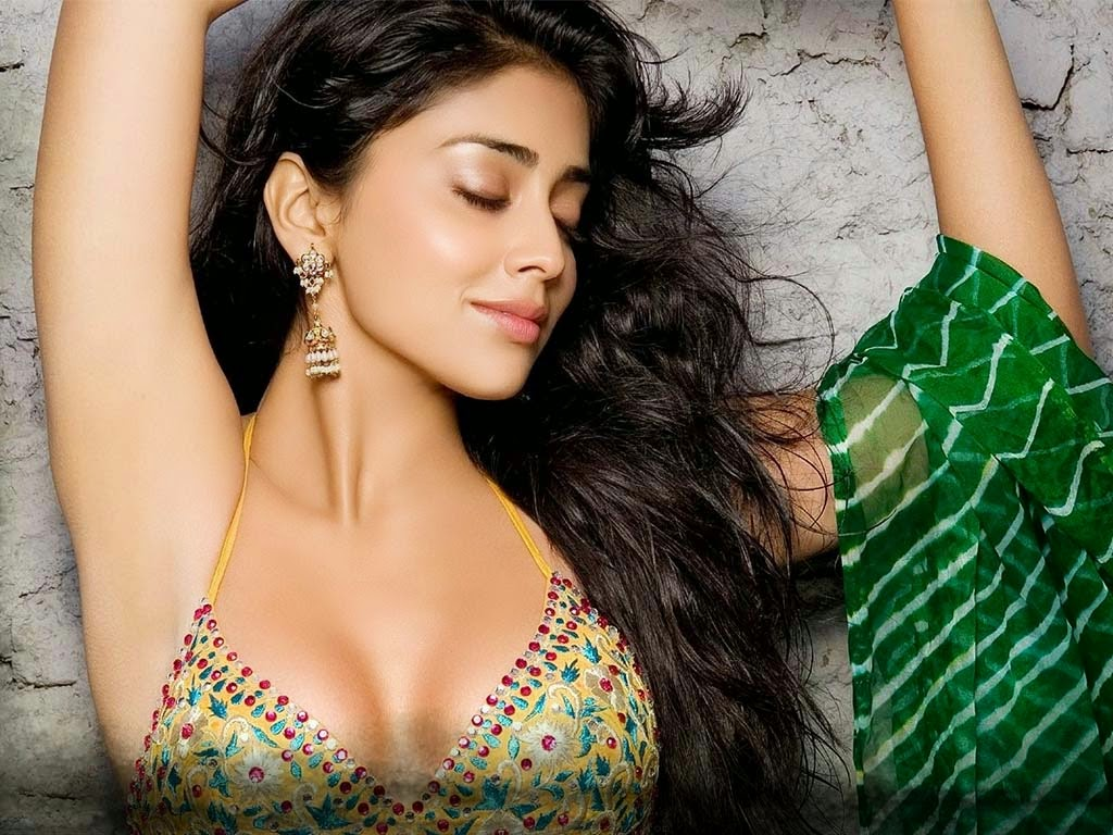 Shriya Saran hot cleavage photo