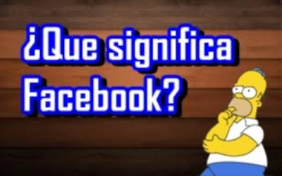 significa facebook