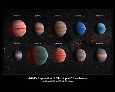 Estudo revela mistério da água perdida em exoplanetas similares a Júpiter