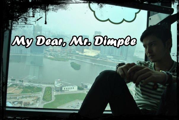 Ini nukilan hati aifa *****: My Dear, Mr Dimple..last part