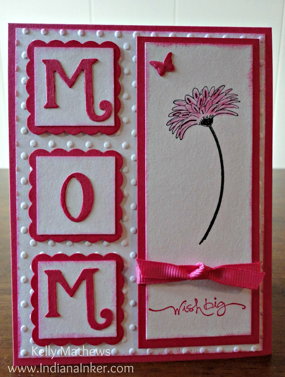 Indiana Inker Mom Birthday Card