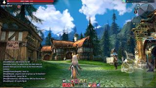 Клиентская онлайн игра RPG