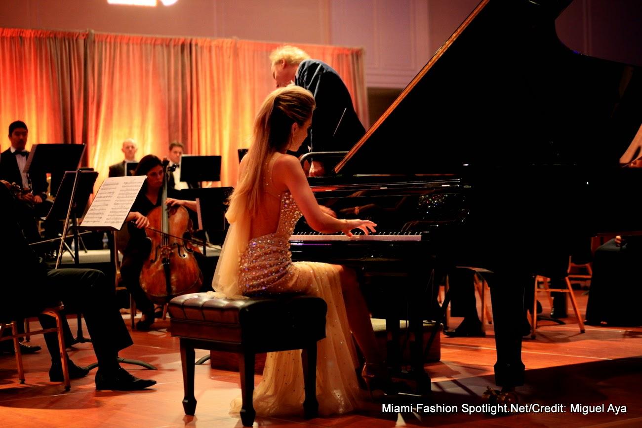 Miami Symphony Orchestra and Lola Astanova at the Trump National Doral Miami