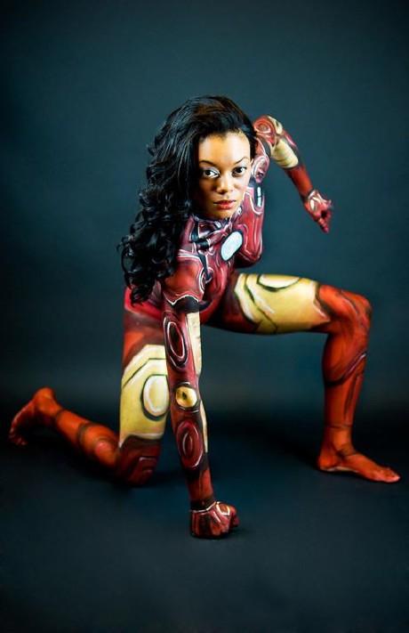 Iron Girl Bodypainting