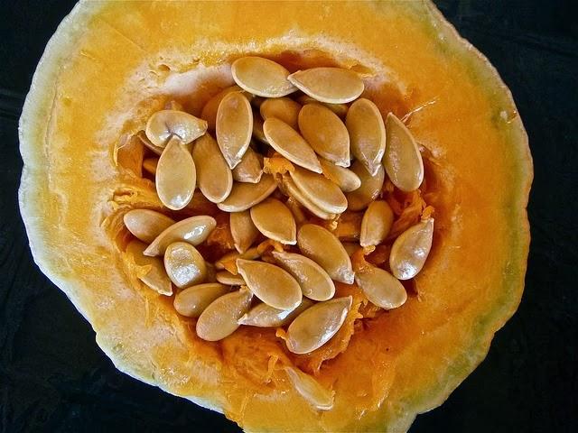 Los 5 vegetales con más proteínas: pipas de calabaza