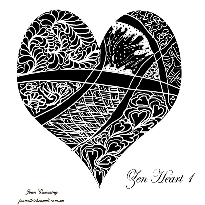 Cool Drawing Designs Step By Step Images For gt Cool Hearts