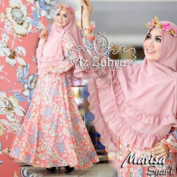 Desain Baju Muslim Gamis Syar 39 I Wanita Simple Terbaru 2016