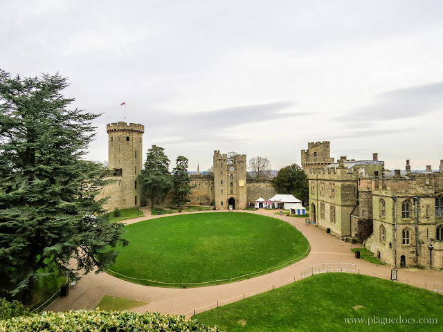 "Warwick Castle, book review, ""The Empty Throne"" by Bernard Cornwell"