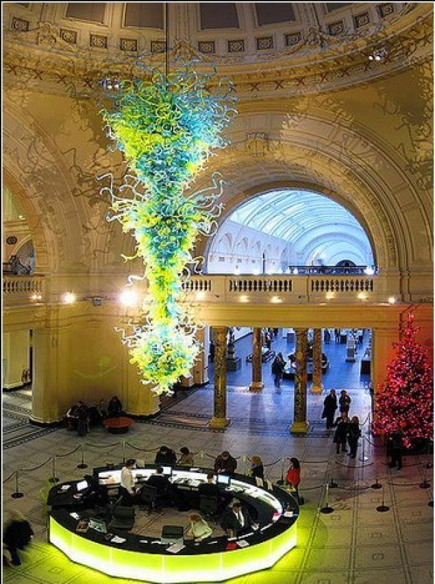 giant chandelier