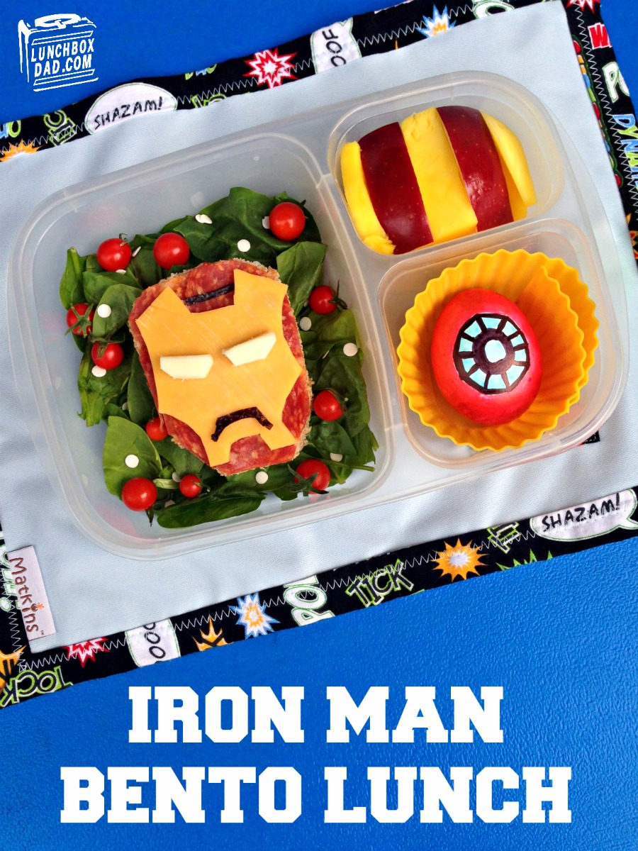 Iron Man Bento Lunch