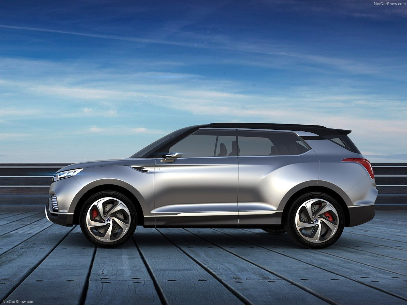Hình ảnh xe ô tô SsangYong XLV Concept 2014 & nội ngoại thất