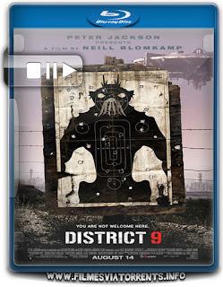 Distrito 9 Torrent - BluRay Rip 1080p Dublado