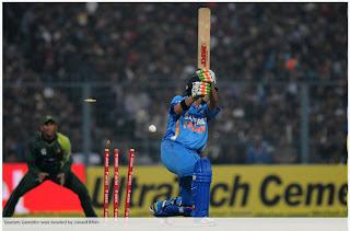 Junaid-Khan-Bowled-Gautam-Gambhir-INDIA-v-PAKISTAN-2nd-ODI-2012