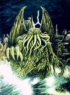 Cthulhu e a cidade submersa de R'lyeh