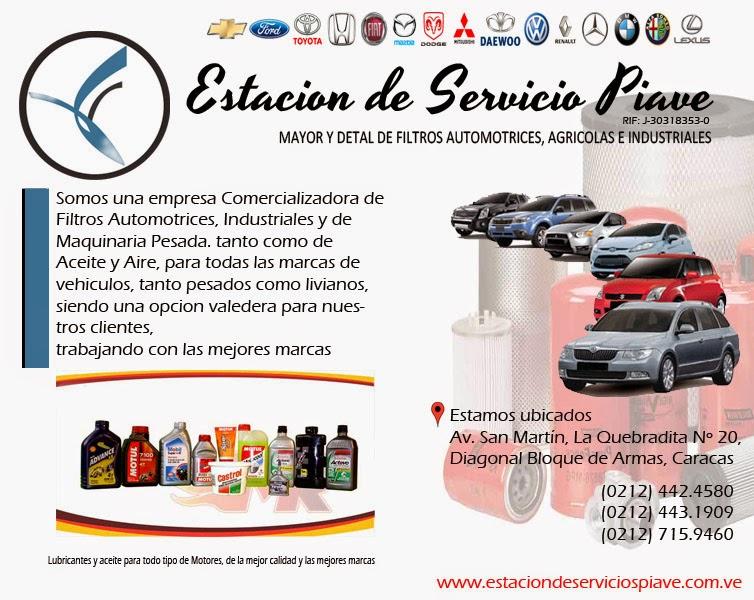 ESTACION DE SERVICIOS PIAVE, C.A. en Paginas Amarillas tu guia Comercial
