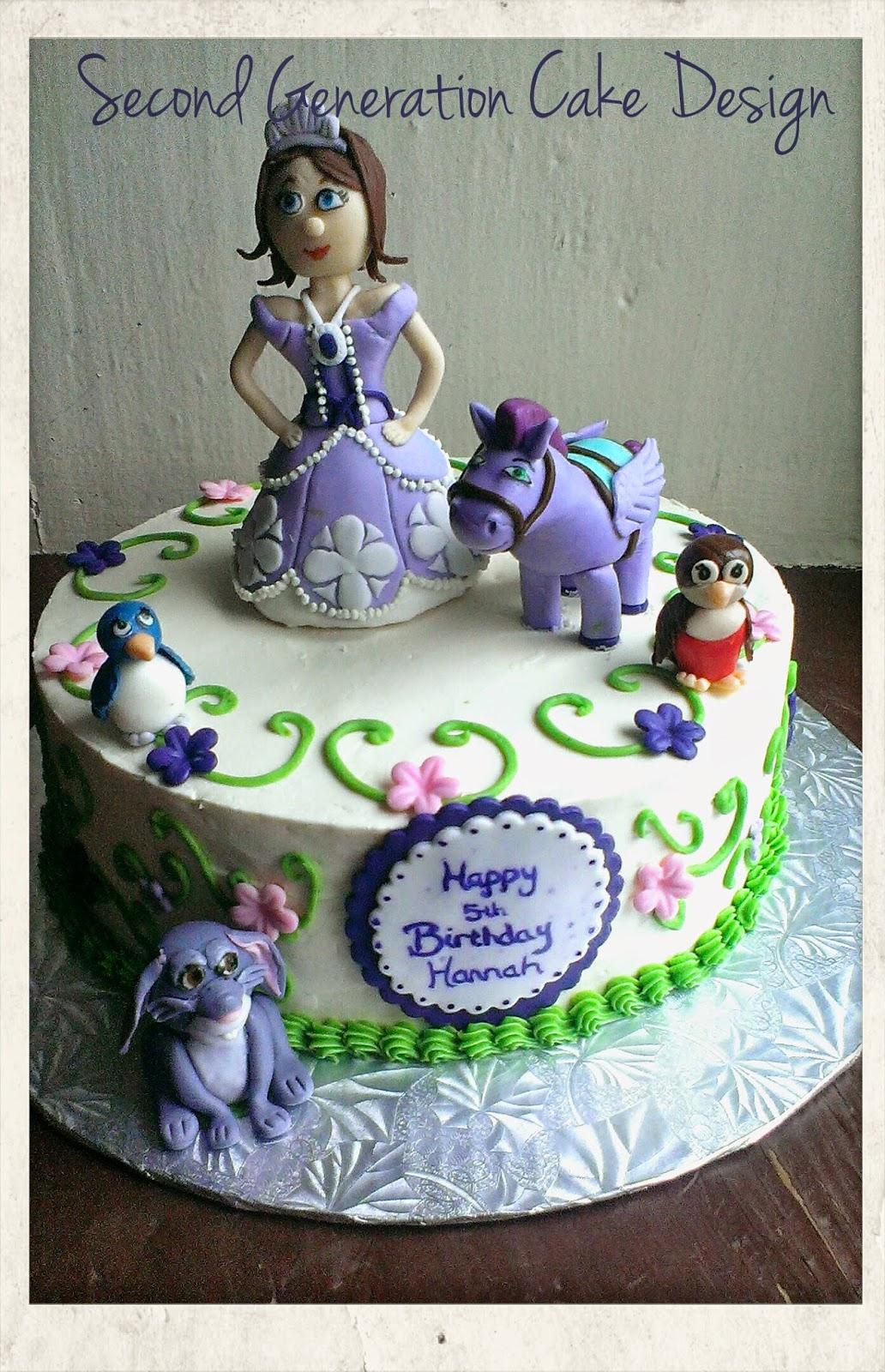 Second Generation Cake Design
