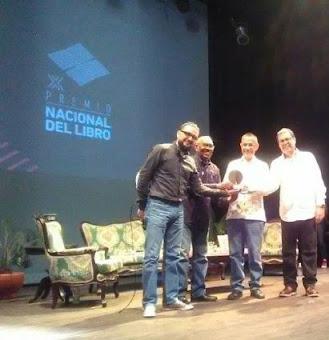 Prof. José Armando Durán: Premio Nacional del Libro (2016-2017)