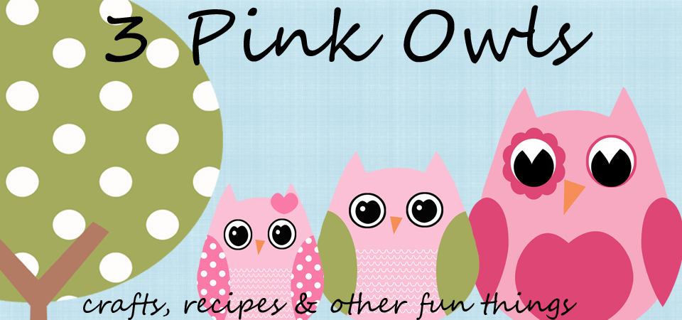 3 Pink Owls