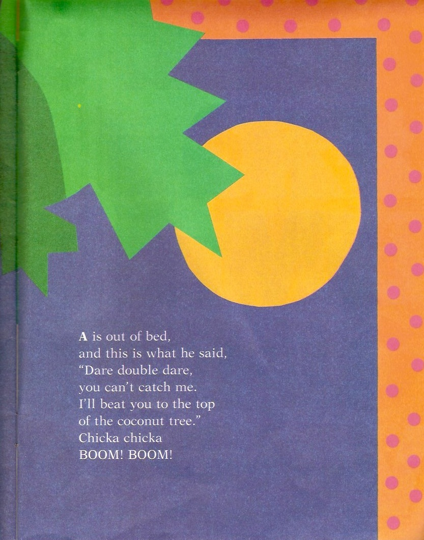 Dads Read Upside Down: Chicka Chicka Boom Boom Review - photo#36