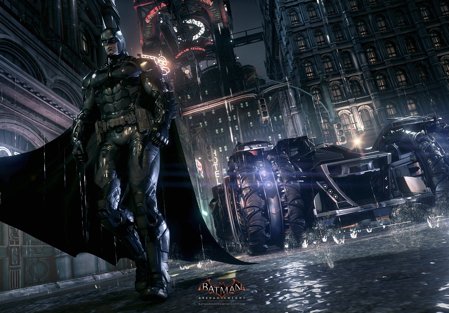 Batman: Arkham Knight - New Trailers & Images