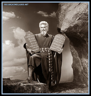 Chartlon Heston en Los diez mandamientos (1956 - The ten commandments)