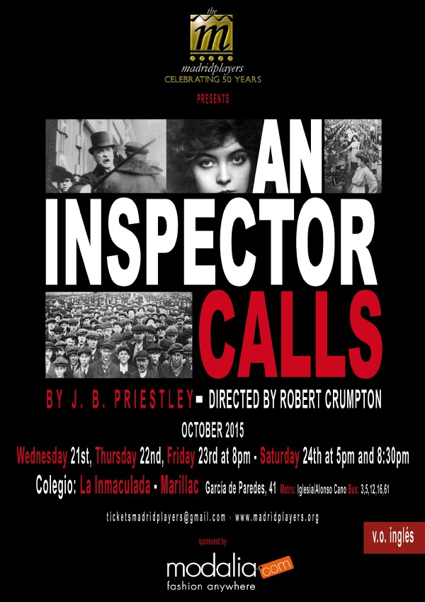 the theme of guilt in an inspector calls a play by j b priestly Explore how priestly presents and develops the relationship between shelia theme of guilt in 'an inspector calls play which was written by jb priestly.
