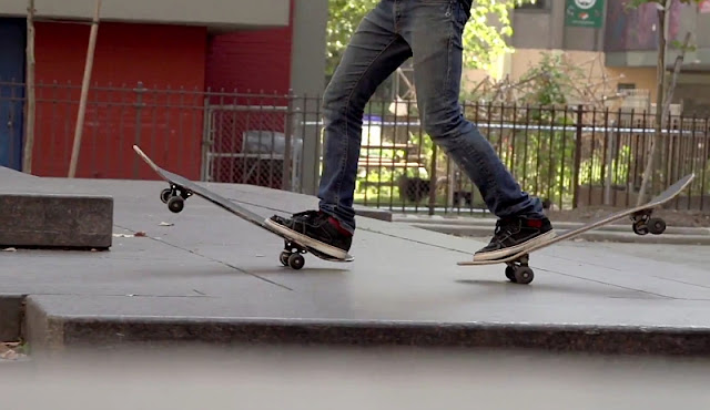 Kilian Martin: Searching Sirocco | Feiner Skateboard Freestyle Clip - Atomlabor Blog Skatevideo