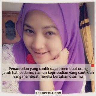 Dp Bbm Wanita Muslimah Cantik Kekopedia Com Pulan Gambar Dp Bbm