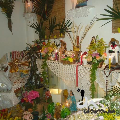 decoracao festa xango:Da Daraju Artesanatos: DECORAÇÃO DE FESTA DE OXUM