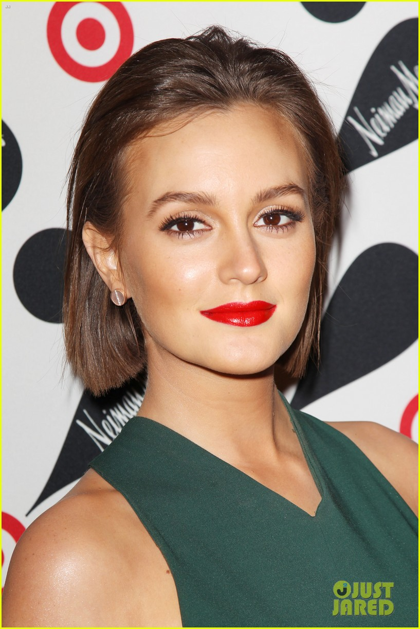 Makeupbymelby leighton meester targetneiman marcus launch photo provided by justjared baditri Gallery