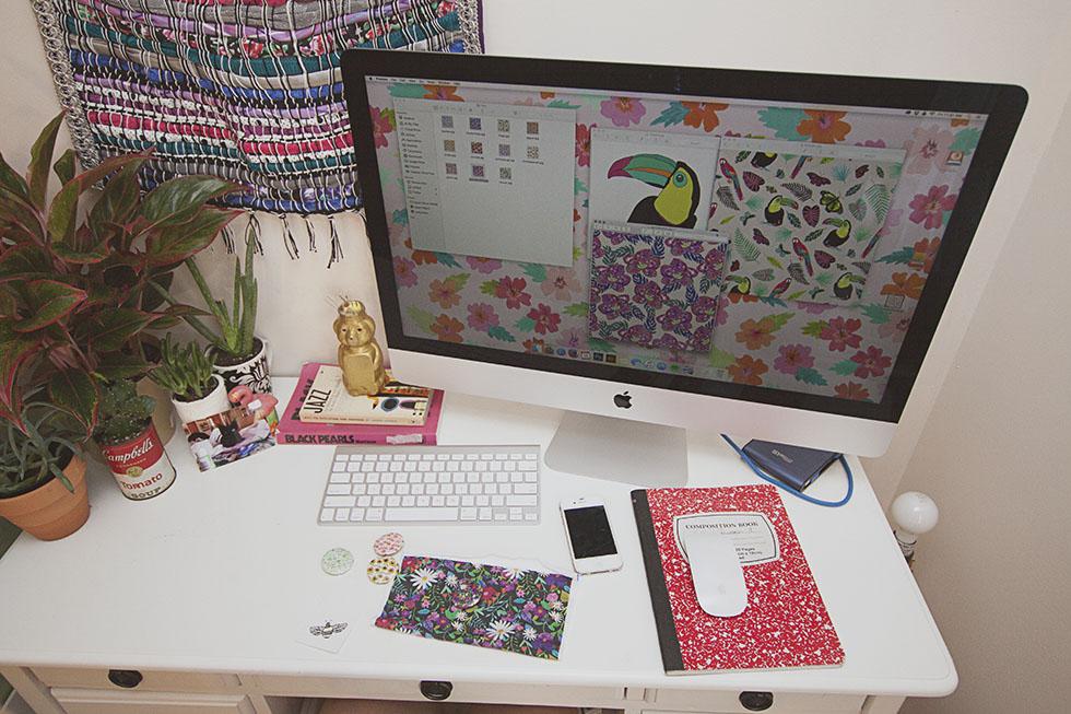 Abby Galloway studio space
