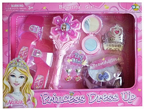 Kado ulang tahun untuk anak perempuan berupa mainan princess.