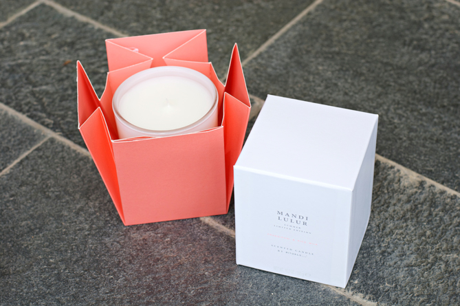 Rituals Mandi Lulur summer limited edition scented candle