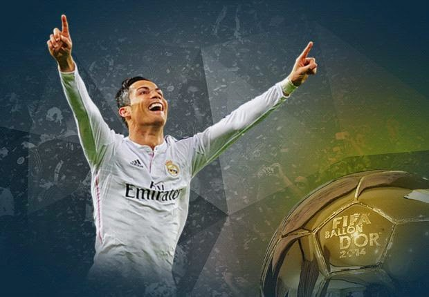 Portugal Attacker Cristiano Ronaldo Wins 2014 Fifa Ballon d'Or