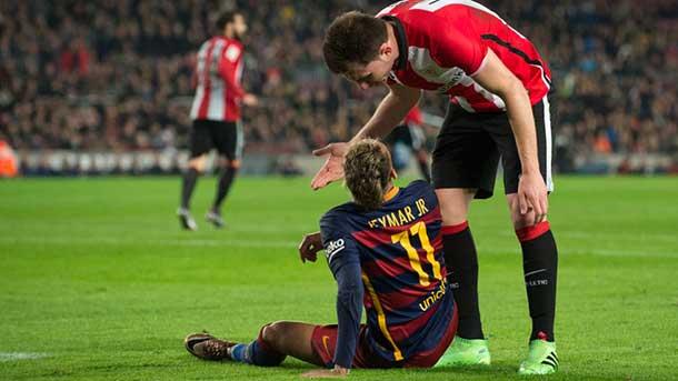 Neymar pudo lesionarse tras marcar un golazo al Athletic