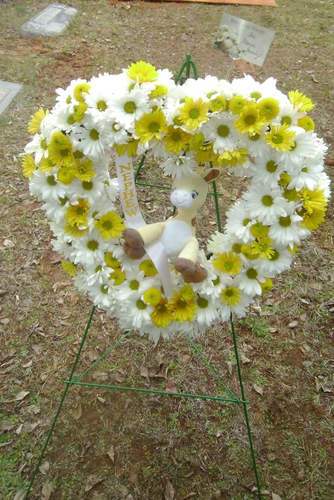 Stillborn Still Loved Flowers For His Funeral