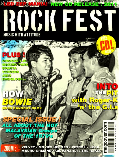 Rock Fest 1967 Sarawak Merry Makers