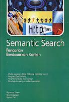 toko buku rahma: buku SEMANTIC SEARCH PENCARIAN BERDASARKAN KONTEN, pengarang riyanto sarno, penerbit andi