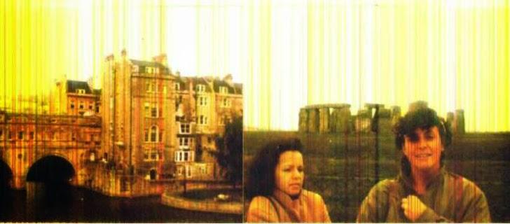 Bath, Stonehenge, Fátima e Janine em gelado domingo do outono inglês, em 1986