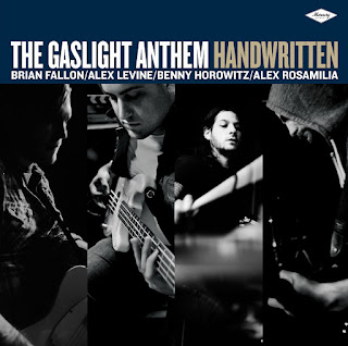 Gaslight Anthem Alex Levine Benny Horowitz Alex Rosamilia Handwritten Brian Fallon