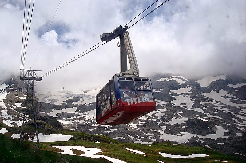 Mount Titlis, Urner Alps of Switzerland:
