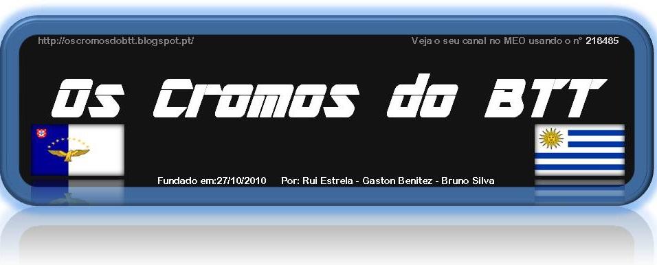 CROMOS DO BTT