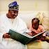 ENTERTAINMENTS: Governor Ajimobi with His Grand Daughter!